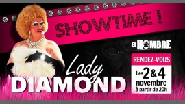 Lady Diamond in Paris le Fri, November  2, 2018 from 08:00 pm to 02:00 am (After-Work Gay, Bear)