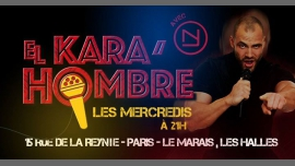 El Kara'Hombre in Paris from October  4 til December 21, 2017 (After-Work Gay, Bear)