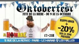 Oktoberfest - Fête de la Bière in Paris from  9 til October 15, 2017 (After-Work Gay, Bear)