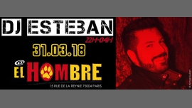 Clubbing - Dj Esteban in Paris le Sat, March 31, 2018 from 10:00 pm to 04:00 am (After-Work Gay, Bear)