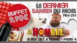 Big Buffet 9,90 à Paris du 25 novembre 2017 au 27 janvier 2018 (After-Work Gay, Bear)