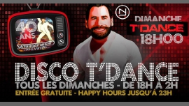Disco T'Dance in Paris le Sun, December 23, 2018 from 06:00 pm to 02:00 am (After-Work Gay, Bear)