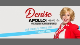 Denise dans IncontrÔlable ! à Paris le mar. 19 mars 2019 de 20h00 à 21h15 (Spectacle Gay Friendly, Lesbienne Friendly)