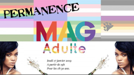 Soirée MAGadulte #14 (18-30 ans) in Paris le Thu, January 17, 2019 from 07:00 pm to 10:00 pm (After-Work Gay, Lesbian, Trans, Bi)