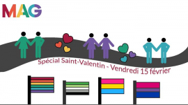 Spécial Saint-Valentin in Paris le Fr 15. Februar, 2019 18.00 bis 22.00 (After-Work Gay, Lesbierin, Transsexuell, Bi)
