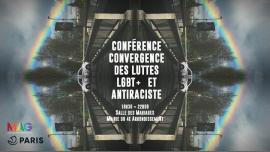 Conférence Convergence des luttes LGBT+ et anti-raciste in Paris le Do 21. März, 2019 18.30 bis 22.00 (Begegnungen / Debatte Gay, Lesbierin, Transsexuell, Bi)