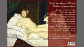 Sortie au musée d'Orsay à Paris le sam. 22 avril 2017 de 10h00 à 13h00 (Rencontres / Débats Gay, Lesbienne, Trans, Bi)
