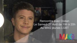 Rencontre avec Océan à Paris le sam. 27 avril 2019 de 19h00 à 20h00 (Rencontres / Débats Gay, Lesbienne, Trans, Bi)