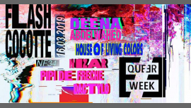 Flash Cocotte x Queer Week à Paris le sam. 16 mars 2019 de 23h30 à 06h30 (Clubbing Gay, Lesbienne, Trans, Bi)