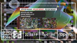 Atelier mixage avec Sophie Morello et Transterror (COMPLET) em Paris le sex, 22 março 2019 16:00-19:00 (Workshop Gay, Lesbica, Trans, Bi)