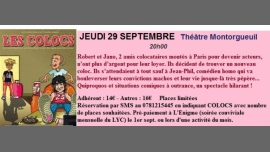 "Théâtre ""Les Colocs - Coming Out"" in Paris le Thu, September 29, 2016 from 08:00 pm to 09:30 pm (Theater Gay Friendly)"