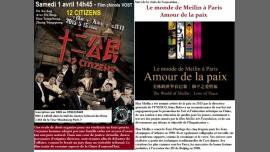 Cinéma chinois suivi de l'expo Amour et Paix de Han Meilin in Paris le Sa  1. April, 2017 15.00 bis 17.30 (Kino Gay Friendly)