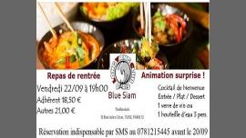 Repas de rentrée a Parigi le ven 22 settembre 2017 19:00-22:00 (Ristorante Gay, Lesbica)