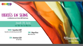 Fiertés en Seine in Paris le Do 27. Juni, 2019 18.00 bis 00.00 (After-Work Gay, Lesbierin, Hetero Friendly, Bear)