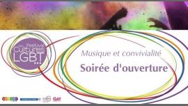 Soirée d'ouverture du Festival des Cultures LGBT 2018 à Paris le ven. 16 mars 2018 à 20h00 (Concert Gay, Lesbienne, Trans, Bi)