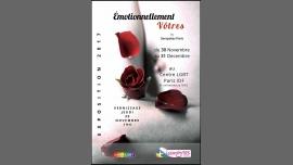 Expo des Seropote Paris — Émotionnellement vôtres à Paris du 30 novembre au 14 décembre 2017 (Expo Gay, Lesbienne, Hétéro Friendly, Bear)