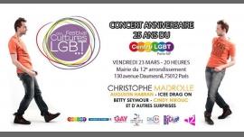 Le 23 mars : Les 25 ans du Centre ! à Paris le ven. 23 mars 2018 à 20h00 (Concert Gay, Lesbienne, Hétéro Friendly, Bear)
