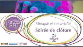 Soirée de clôture du Festival des Cultures LGBT 2018 à Paris le mer.  4 avril 2018 de 19h00 à 23h00 (After-Work Gay, Lesbienne, Hétéro Friendly, Bear)