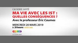 Ma vie avec les IST : quelles conséquences ? à Paris le mer. 20 mars 2019 de 20h00 à 22h00 (Rencontres / Débats Gay, Lesbienne, Hétéro Friendly, Bear)