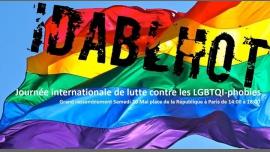 IDABLHoT - Rassemblement contre les LGBT-phobies à Paris le sam. 20 mai 2017 de 14h00 à 17h00 (Parades / Défilés Gay, Lesbienne, Hétéro Friendly, Bear)