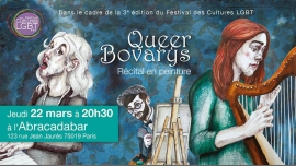 Concert - Queer Bovarys - Récital en peinture in Paris le Thu, March 22, 2018 from 08:30 pm to 10:00 pm (Concert Gay, Lesbian, Hetero Friendly, Bear)