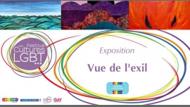 Exposition - Vue de l'exil en Paris del 26 de marzo al  4 de abril de 2018 (Expo Gay, Lesbiana, Hetero Friendly, Oso)