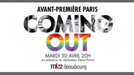 Avant-première Paris - Coming Out in Paris le Tue, April 30, 2019 from 08:00 pm to 10:00 pm (Cinema Gay, Lesbian, Hetero Friendly, Trans, Bi)
