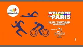 Welcome to Paris - 10 Km / Triathlon à Paris le lun.  6 août 2018 de 19h00 à 02h00 (After-Work Gay, Lesbienne)