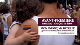 Mon enfant ma bataille Avant-première Paris in Paris le Tue, May 21, 2019 from 07:30 pm to 10:30 pm (Cinema Gay, Lesbian)