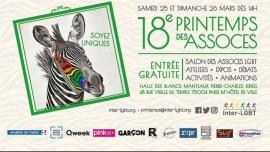 Shams-France fête son Premier Printemps des Assoces à Paris le sam. 25 mars 2017 de 14h00 à 19h00 (Festival Gay, Lesbienne, Trans, Bi)