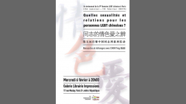 Quelles sexualités et relations des personnes LGBT chinoises? in Paris le Wed, February  6, 2019 from 08:00 pm to 09:30 pm (Meetings / Discussions Gay)