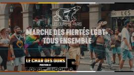 Char des Ours à la Marche des Fiertés Lgbtqi+ 2019 em Paris le sáb, 29 junho 2019 14:00-20:00 (Desfiles Gay, Bear)
