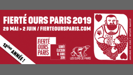 Fierté Ours Paris 2019 in Paris von 29 Mai bis  2. Juni 2019 (Festival Gay, Bear)