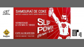 Slip Power (expo de Samouraï de Coke) in Paris from May 29 til June 12, 2019 (Expo Gay, Bear)