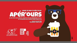 Apér'Ours in Paris le Do 30. Mai, 2019 19.30 bis 22.30 (After-Work Gay, Bear)