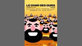 Le Char des Ours à Paris le sam. 24 juin 2017 à 14h00 (Parades / Défilés Gay, Bear)