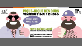Pique-nique des Ours 2019 in Paris le Fr 31. Mai, 2019 13.00 bis 15.00 (Picknick Gay, Bear)