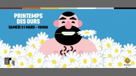 Printemps des Ours 2018 in Paris le Sat, March 31, 2018 from 07:00 pm to 11:59 pm (After-Work Gay, Bear)