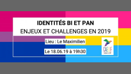 Table ronde - Identités Bi/Pan in Paris le Tue, June 18, 2019 from 07:30 pm to 10:30 pm (Meetings / Discussions Gay, Lesbian, Trans, Bi)