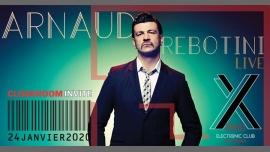 Cloakroom Invite Arnaud Rebotini (live) en Montpellier le vie 24 de enero de 2020 23:55-06:00 (Clubbing Gay)