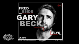 Cloakroom Invite GARY BECK in Paris le Do 21. März, 2019 23.55 bis 06.30 (Clubbing Gay)