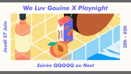 We Luv Gouine x Playnight : QQQQQ in Paris le Do 27. Juni, 2019 20.00 bis 02.00 (After-Work Lesbierin)