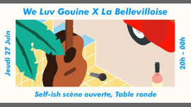 We Luv Gouine x La Bellevilloise : Self-ish et Table Ronde in Paris le Do 27. Juni, 2019 20.00 bis 00.00 (After-Work Lesbierin)