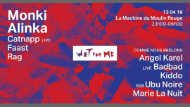 Wet For Me - Wild edition à Paris le sam. 13 avril 2019 de 23h00 à 06h00 (Clubbing Lesbienne)