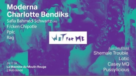 Wet For Me - Trouble edition à Paris le sam. 24 novembre 2018 de 23h00 à 06h00 (Clubbing Lesbienne)