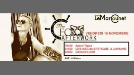 FOX Afterwork Péniche Marcounet Vendredi 15 Novembre 2019 em Paris le sex, 15 novembro 2019 19:30-04:00 (After-Work Lesbica)