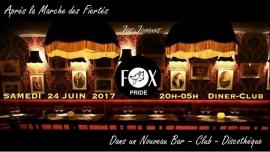 FOX PRIDE PARTY à Paris le sam. 24 juin 2017 de 20h00 à 06h00 (Clubbing Lesbienne)