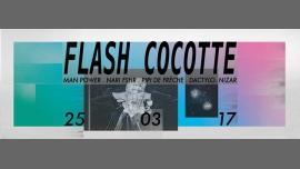 Flash Cocotte à Paris le sam. 25 mars 2017 de 23h30 à 06h30 (Clubbing Gay, Lesbienne)