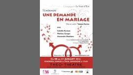 Une demande en mariage in Paris le Sun, July 31, 2016 at 05:30 pm (Theater Gay Friendly)
