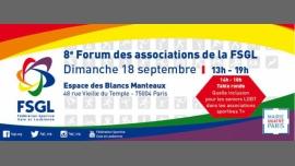 8e Forum des associations de la FSGL à Paris le dim. 18 septembre 2016 à 13h00 (Rencontres / Débats Gay, Lesbienne, Trans, Bi)